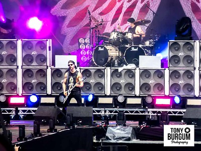 Bullet for my Valentine play the Main stage at Download Festival 2018.