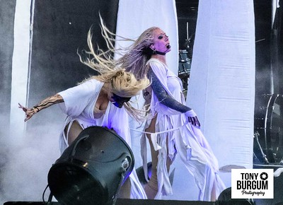 In This Moment play the Main stage at Download Festival 2018.