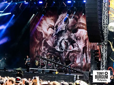 Kreator play the Zippo stage at Download Festival 2018. Featuring Mille Petrozza - Vocals & Guitar,Sami Yli-Sirniö - Guitar, Christian Giesler - Bass and  Ventor - Drums.