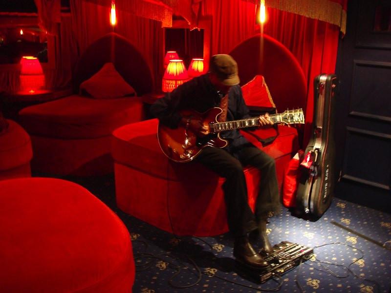 Keith Robinson at the Cafe de Paris, London.<br /> © Laura Razzano