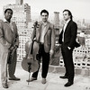 Bohemian Trio,<br /> New York 2014<br /> (L-R): Yosvany Terry (sax), Yves Dharamraj (cello), Orlando Alonso (piano)