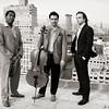 Bohemian Trio,<br /> New York 2014<br /> (L-R): Yosvany Terry (sax), Yves Dharamraj (cello), Orlando Alonso (piano)