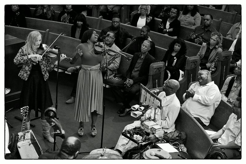 Donald Byrd Memorial Service at the Abyssinian Baptist Church, <br /> Harlem, NY,  May 7th, 2013.<br /> © Laura Razzano