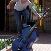 Drew Vigil Blue Bass Player