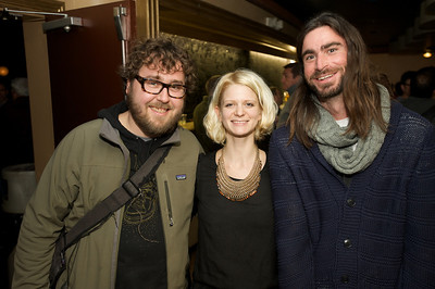 Scott Beseler, Kelley Darlin and Luke McGlasson