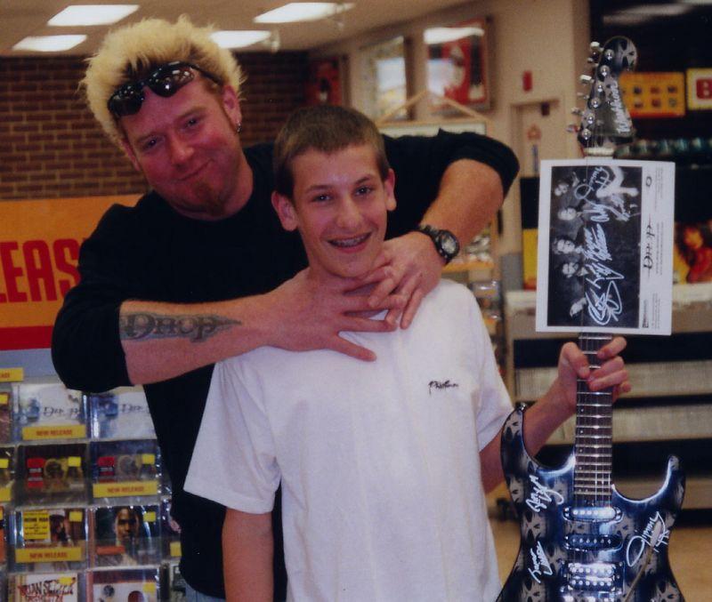 Tyler Michalek with Jamie Little