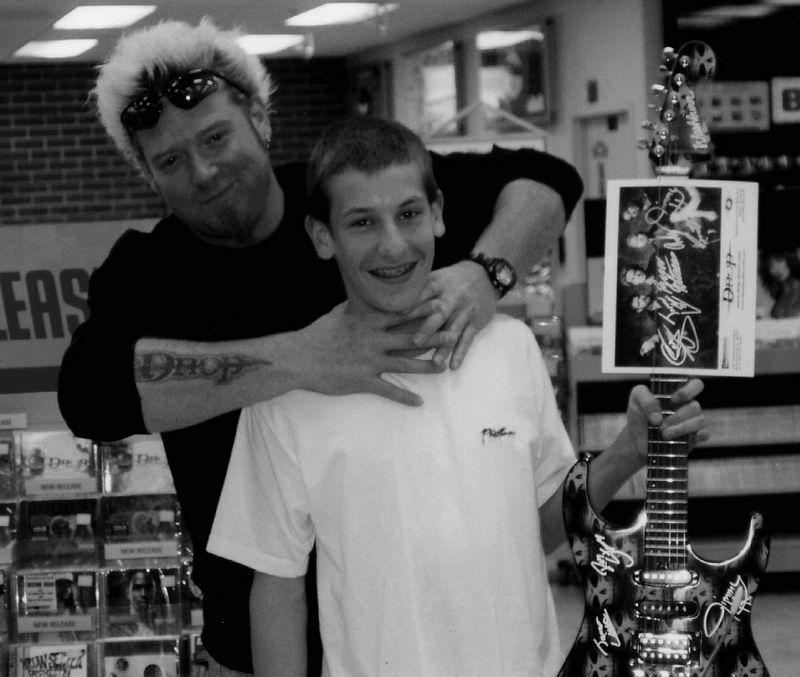 Tyler Michalek with Jamie Little b&w