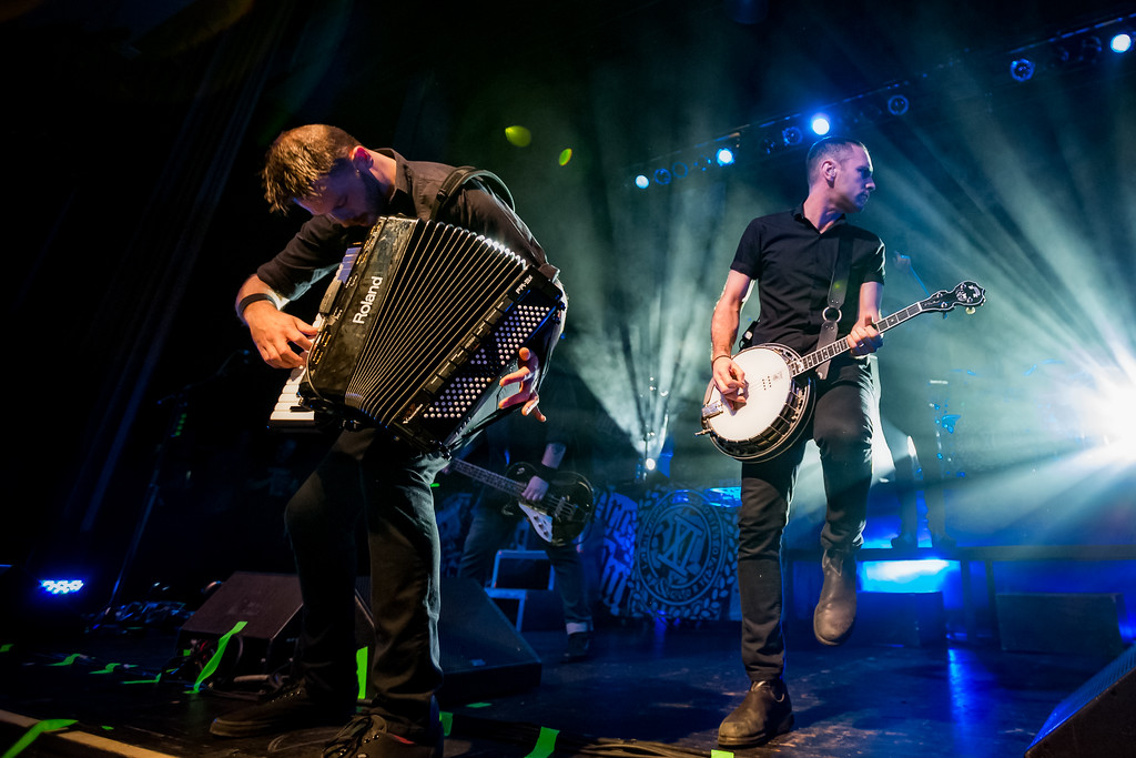 February 28, 2018 Dropkick Murphys St. Patrick's Day Tour at the Old National Centre in Indianapolis, IN. Photo by Tony Vasquez.