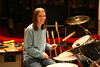 Lea Ann shows how much she _loves_ my drums