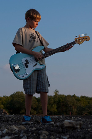 Dylan and his bass