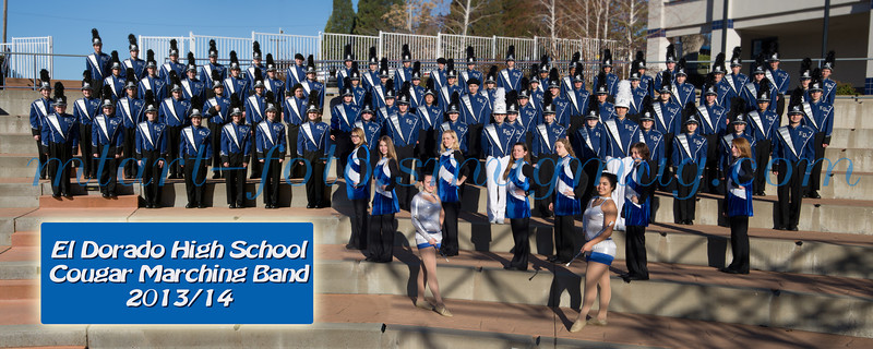 EDHS 2013/14 Marching Band Photo