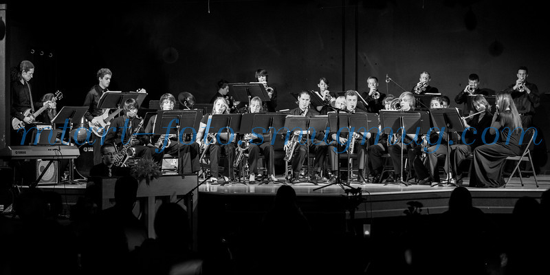EDHS Jazz Band at Gold Trail Jazz Night 2014
