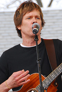 Kevin Bacon (Earth Day Celebration, Central Park, NYC)
