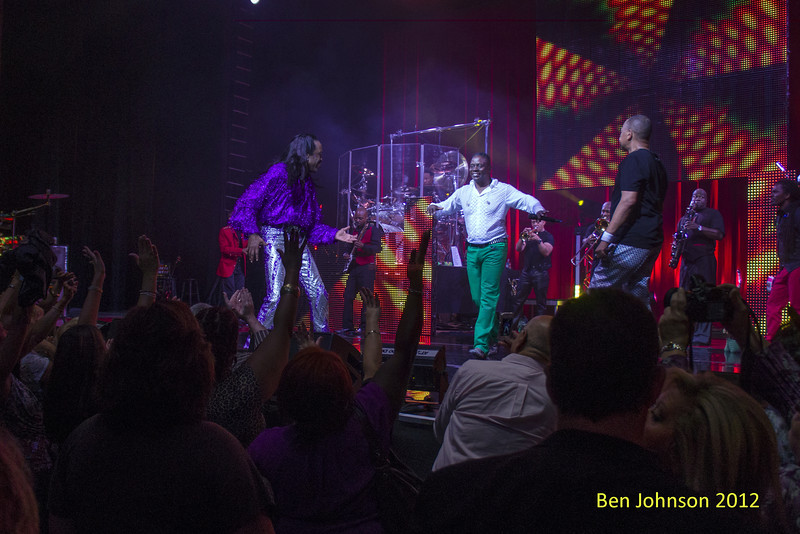 Earth Wind and Fire performing at The Borgata Hotel and Spa in Atlantic City New Jersey, September 22, 2012