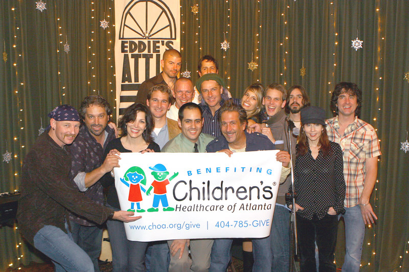 Benefit for Children's Healthcare of Atlanta December 23, 2006 with Ed Roland of Collective Soul and friends.