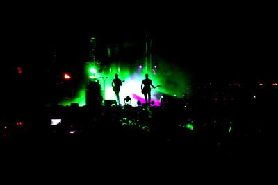 El Monstero (Pink Floyd Tribute) at Jefferson Barracks Park, St. Louis, Missouri  Band Members: Mark Thomas Quinn, Jimmy Griffin, Kevin Gagnepain, Bryan Greene, John Pessoni, Bill Reiter, Jake Elking, Dave Farver, Erminie Cannon, Tandra Williams, Mindy Mierek