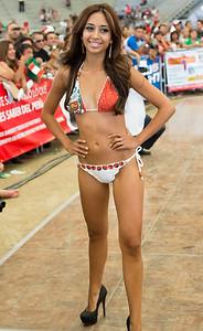 Miss Lima  -  Winner of Miss Peru California 2012
