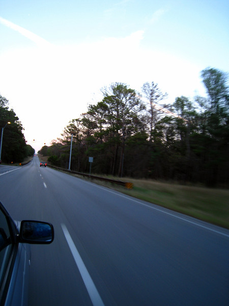Into the tall trees in east Texas.