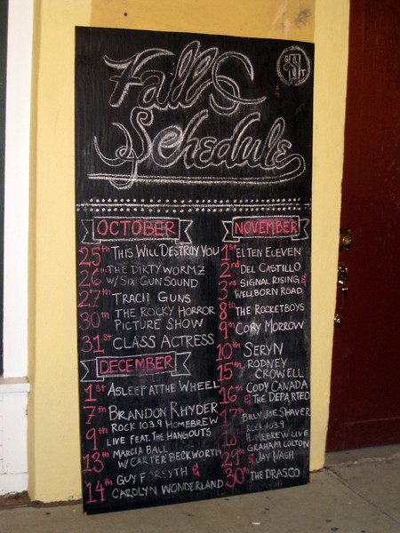 The Grand Stafford Theater Fall Schedule