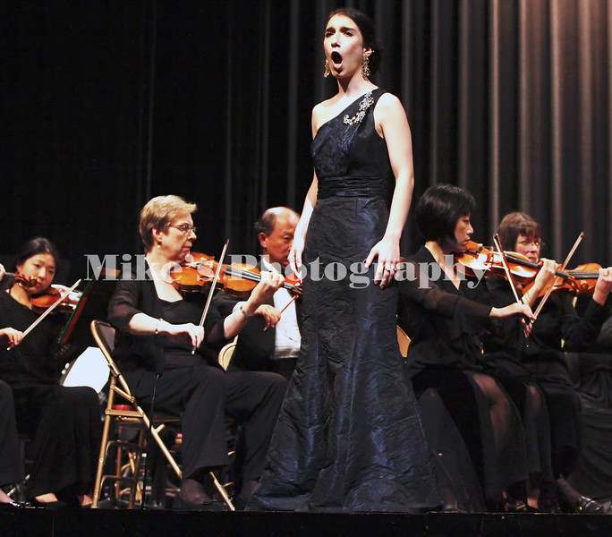 Eleanor Pearl was the featured guest performer during the Pine Bluff Symphony Orchestra performance at the Pine Bluff Convention Center Sunday.