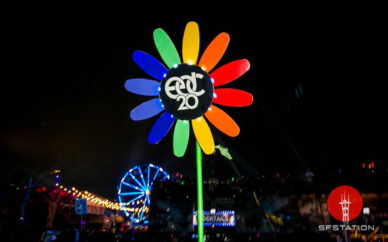 Electric Daisy Carnival 2016, Jun 17-19, 2016 at Las Vegas Motor Speedway