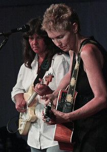 Eliza Gilkyson and Nina Gerber.