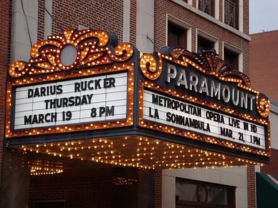 Ellis Paul - Paramount Theater - Mar. 19, 2009