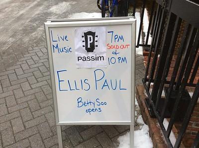 Ellis Paul - Passim - Dec. 30-31, 2015