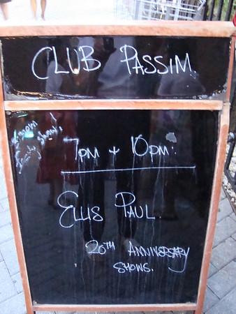 Ellis Paul at Club Passim - July 9-10 2010