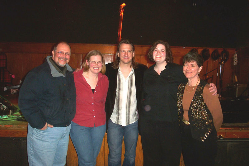 L-R (with with Discussion Board members): Tim, Amy, Ellis, Erin and KarenZ.
