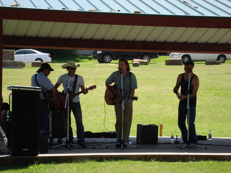 """First song at the Children's Festival - """"The Cat Came Back"""" - was performed with the Red Dirt Rangers."""