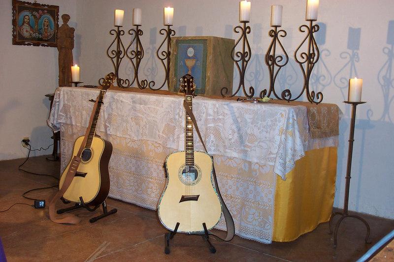 Guitars at the San Pedro Chapel - March 3, 2007