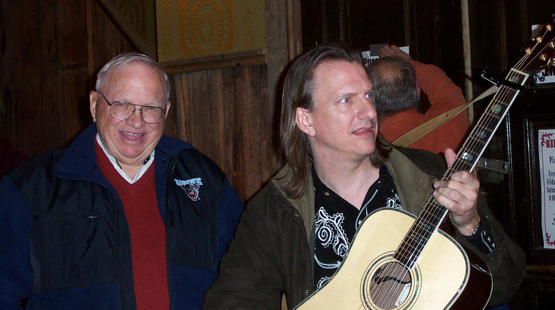 Another shot of Ed and Ellis - March 2, 2007.