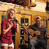 Opener #1 at the Oklahoma Vintage Guitar shope was Adelaye and Dustin.