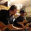 Ellis and Don at Oklahoma Vintage Guitar