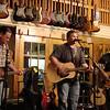 Opener #2 at Oklahoma Vintage Guitar shop was Jake Moffat and band.