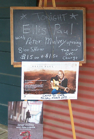 Ellis Paul in Texas - March 28-29, 2008