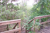 Deck of the Shadewind Cabin -  Southwind B&B - Wimberley, TX.