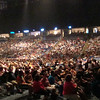 The crowd getting ready to welcome Sugarland.