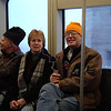 Dean and Elaine on our Trolley Car trip to the convention center.