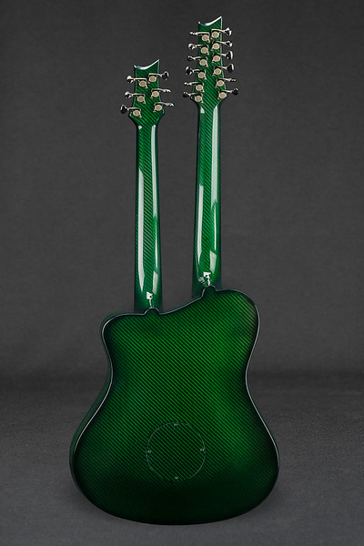 Photos taken of my new Chimaera by Alan McLaughlin before it was shipped to me from Emerald Guitars in Donegal, Ireland.