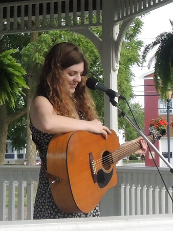 Emily Keener from Wakeman performs at Vermilion on July 22, 2018