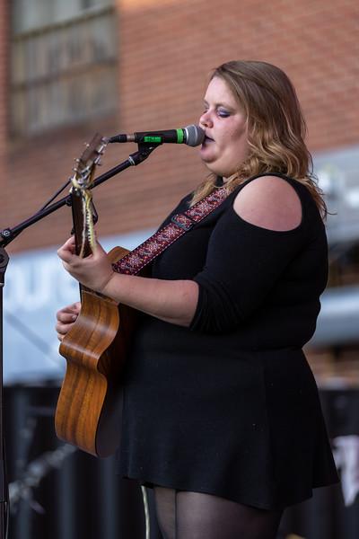 Emily Lehman performed at the HI-FI Annex on April 25, 2021. Photo by Tony Vasquez.