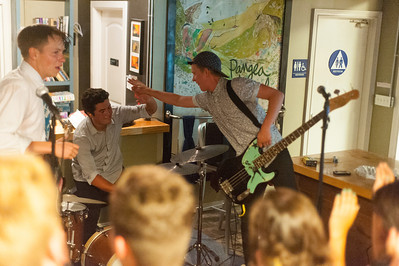 Emily's Army performs at SLO DO CO in San Luis Obispo, CA. May. 24, 2014. Photo by Ian Billings
