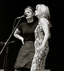 Shawn Colvin & Emmylou Harris at Elk's Park during Telluride Bluegrass Festival