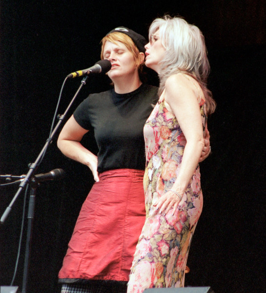 Shawn Colvin & Emmylou Harris at Telluride Bluegrass Festival.