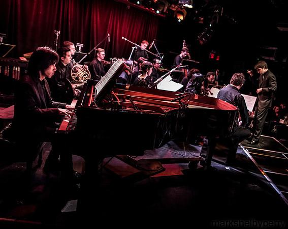 Ensemble LPR and Kigawa at LPR, January 2014
