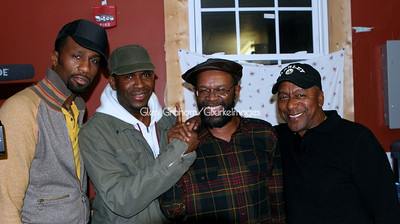 "Leon, Michael ""Mr. Brightworks"" Stephens, Beres Hammond and Bob Johnson. Leon was in town to perform as the opening act on a reggae concert featuring Jamaica's reggae star Beres Hammond. Leon put on quite a show, reminding us that he is more than just an actor."