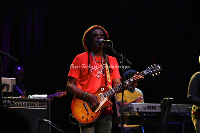 Junior Marvin of the Wailers