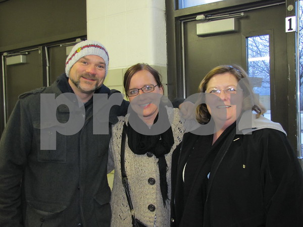 Jeffrey Halter, Rochelle Green, and Joleen Green attended the St. Eds musical.